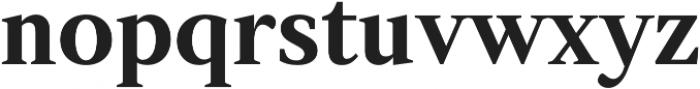 Strato Pro otf (700) Font LOWERCASE