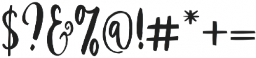 Strawberry Script Reguler otf (400) Font OTHER CHARS