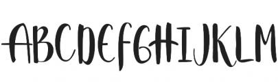 Strawberry Script Reguler otf (400) Font UPPERCASE