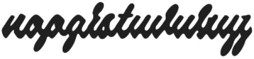 Strawberry Script otf (400) Font LOWERCASE