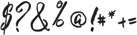 Strawberry otf (400) Font OTHER CHARS