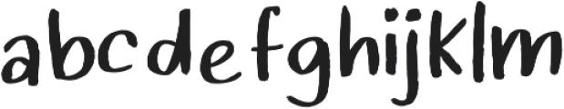 StrawberryMilkshake ttf (400) Font LOWERCASE