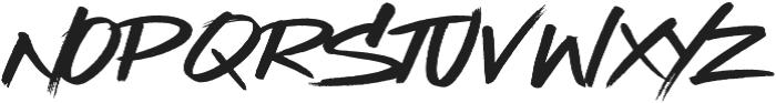 Street Beat ttf (400) Font UPPERCASE