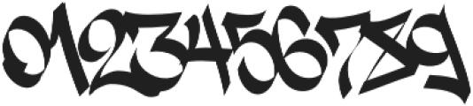 Street Tag Vol 2 Regular otf (400) Font OTHER CHARS
