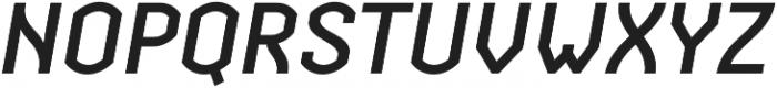 Streetline Medium Italic otf (500) Font UPPERCASE