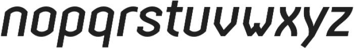 Streetline Medium Italic otf (500) Font LOWERCASE