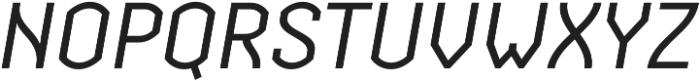 Streetline otf (400) Font UPPERCASE