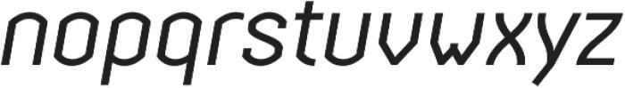 Streetline otf (400) Font LOWERCASE