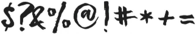 Strenght Regular otf (400) Font OTHER CHARS
