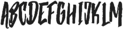 Strenght Regular otf (400) Font UPPERCASE