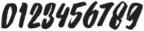 Strenght Slant otf (400) Font OTHER CHARS