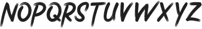 Stricken Brush otf (400) Font UPPERCASE