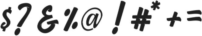 Strike Alone Script otf (400) Font OTHER CHARS