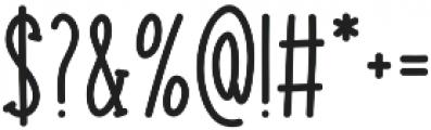 Striking otf (400) Font OTHER CHARS