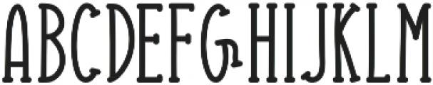 Striking otf (400) Font LOWERCASE