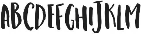 Stringbeans otf (400) Font LOWERCASE