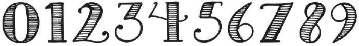 Striped Regular otf (400) Font OTHER CHARS