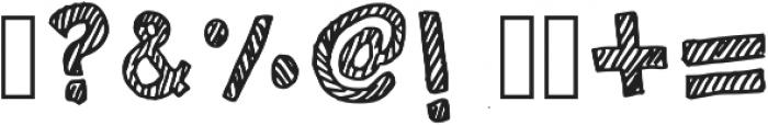 Stripiiera Regular otf (400) Font OTHER CHARS