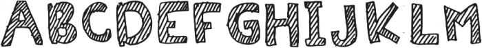 Stripiiera Regular otf (400) Font UPPERCASE