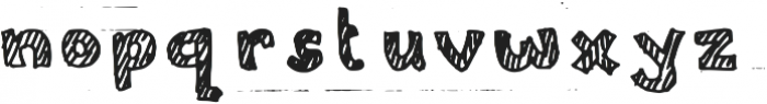 Stripiiera Regular otf (400) Font LOWERCASE