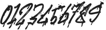 Stronger Megatron Italic otf (400) Font OTHER CHARS