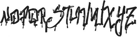 Stronger Megatron ttf (400) Font LOWERCASE