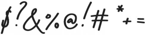 Stroom otf (700) Font OTHER CHARS