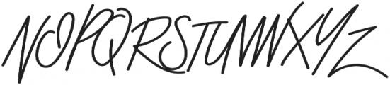 Stroom otf (700) Font UPPERCASE