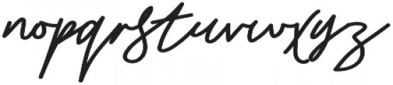 Stroom otf (700) Font LOWERCASE
