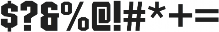 Structia Regular otf (400) Font OTHER CHARS