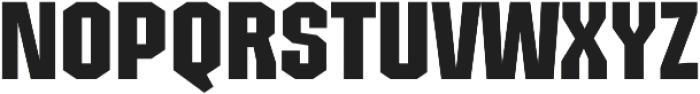 Structia Regular otf (400) Font UPPERCASE
