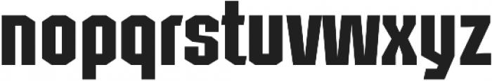 Structia Regular otf (400) Font LOWERCASE