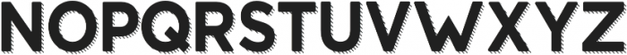 Structure Shadow otf (400) Font LOWERCASE