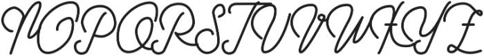 Struggle More Script otf (400) Font UPPERCASE