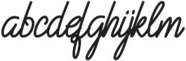 Struggle More Script otf (400) Font LOWERCASE