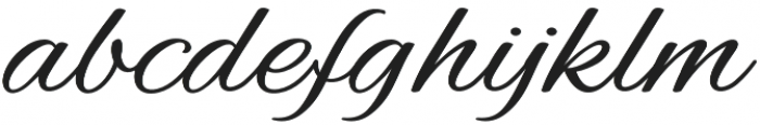 Struggle otf (400) Font LOWERCASE