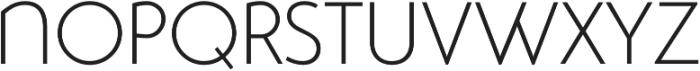 Studio Gothic Alternate ExtraLight otf (200) Font UPPERCASE