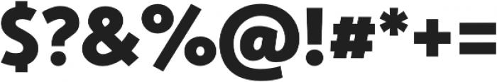 Studio Gothic ExtraBold otf (700) Font OTHER CHARS