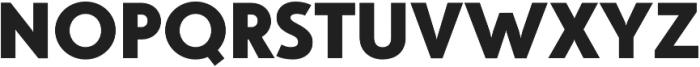 Studio Gothic ExtraBold otf (700) Font UPPERCASE