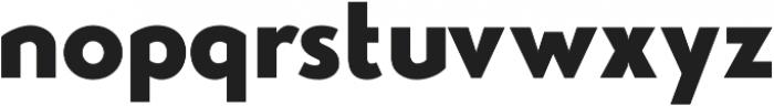 Studio Gothic ExtraBold otf (700) Font LOWERCASE