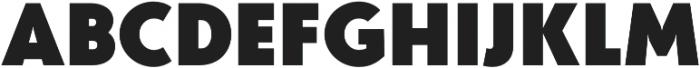 Studio Gothic Fat otf (800) Font UPPERCASE