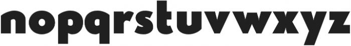 Studio Gothic Fat otf (800) Font LOWERCASE