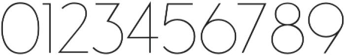 Studio Gothic Thin otf (100) Font OTHER CHARS