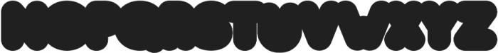 Studly Block Extra otf (400) Font UPPERCASE