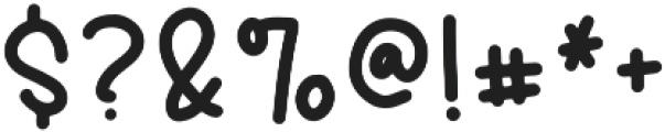 Stupid Cupid Regular otf (400) Font OTHER CHARS