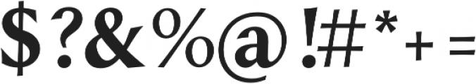 Styla Pro Bold otf (700) Font OTHER CHARS