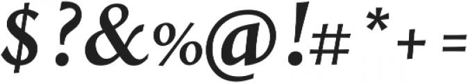 Styla Pro BoldItalic ttf (700) Font OTHER CHARS