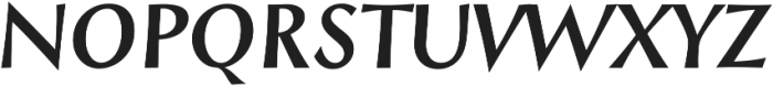 Styla Pro BoldItalic ttf (700) Font UPPERCASE