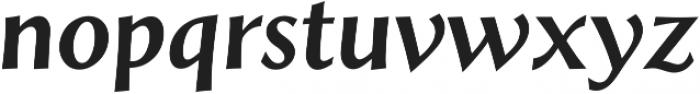 Styla Pro BoldItalic ttf (700) Font LOWERCASE
