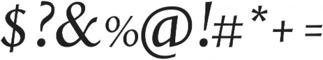 Styla Pro Italic ttf (400) Font OTHER CHARS